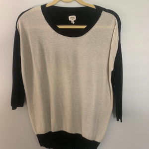 Vintage Wilfred two-tone sweater